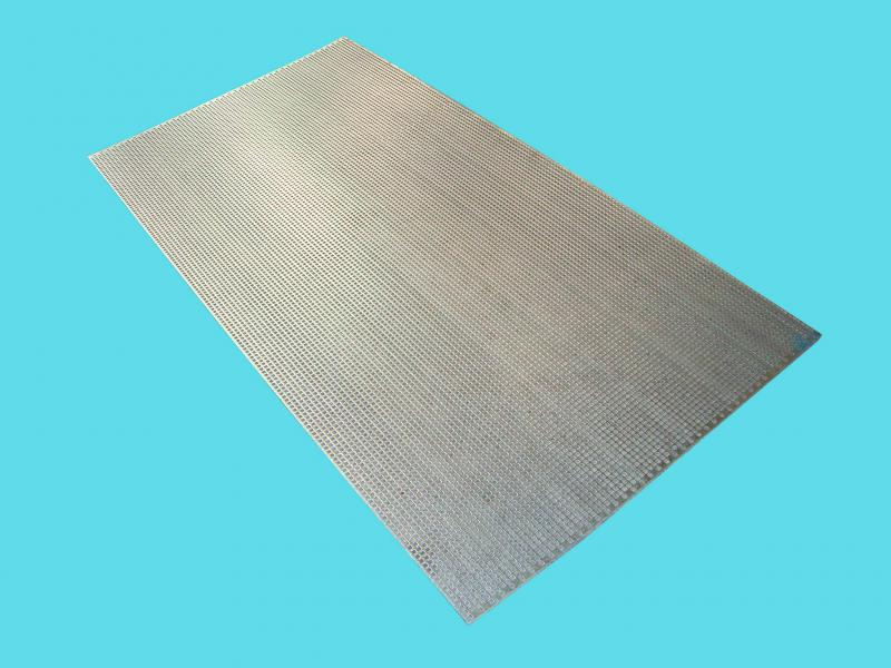 Chapa perfurada galvanizada