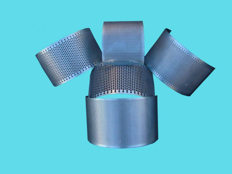 Chapas de aço perfuradas
